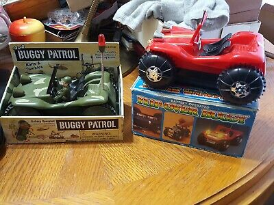 Battery Operated Toys & Hobbies Flip-over Buggy T74l Blinking Lights Battery Operated New In Original Box