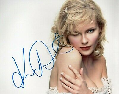 Photographs Entertainment Memorabilia Kirsten Dunst Sultry Autographed Signed 8x10 Photo Certified Authentic Jsa Aftal