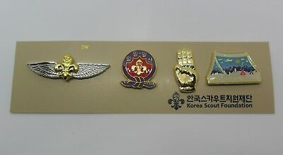 2023 World Jamboree /  Korea Scout Association Official Pin Badge set / 2019