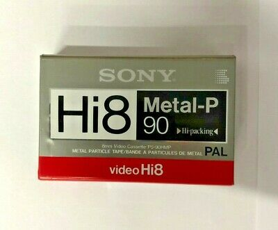 SONY VideoHi8 P5-90HMPB Cassette (Made in Japan)
