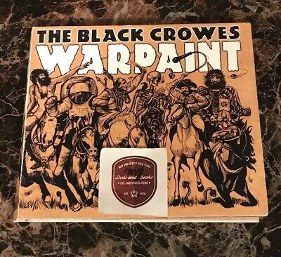 The Black Crowes Warpaint Cd 2008 Silver Arrow Records Southern Rock
