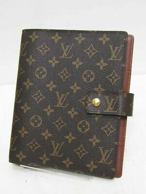 Louis Vuitton Monogram Planner Notebook Cover Monogram R20106 Agenda GM Used