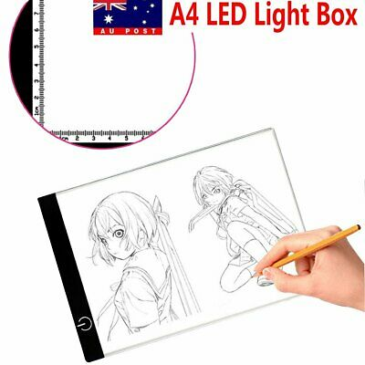 A4 LED Tracing Light Box Board Brightness Adjustable Display Copy Stencil Pad
