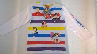 Wiggles / Long Sleeve Shirt / Unisex / Sizes 4 And 5.