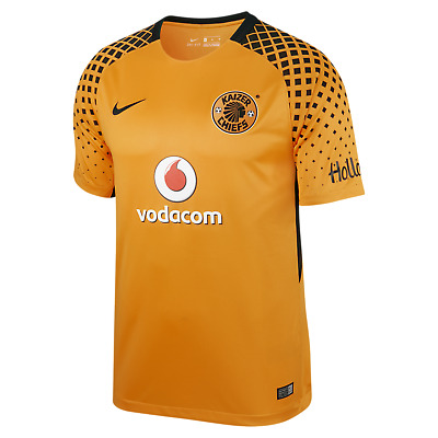 Kaizer Chiefs of South Africa 2017-18 home stadium jersey - adult M by Nike