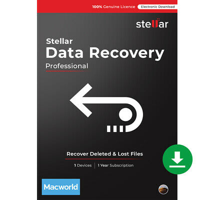 Stellar Data Recovery Software Mac Professional Recover Deleted Files Download