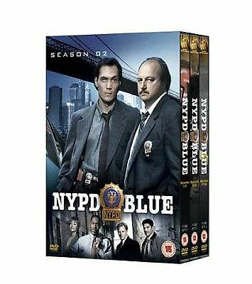 NYPD BLUE Complete Series 2 DVD All Episodes Second Season Original UK Release