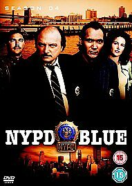 NYPD BLUE Complete Series 4 DVD All Episodes Fourth Season Original UK Rel NEW