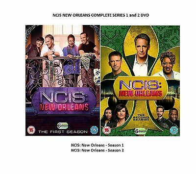 NCIS NEW ORLEANS COMPLETE SERIES 1 + 2 DVD All Episode Season 1 2 UK Release NEW