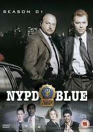 NYPD BLUE Complete Series 1 DVD All Episode First Season Original UK Release NEW