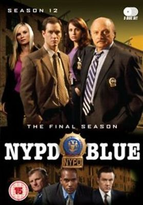 NYPD BLUE Complete Series 12 DVD All Episode Twelfth Season Original UK Release