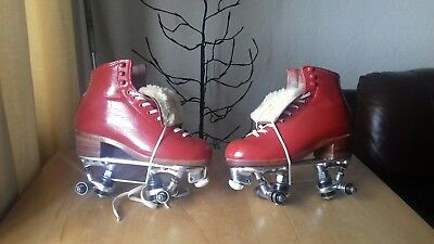 """Reidell"" ""297s"" professional quad rollerskates in a uk size 3.5"