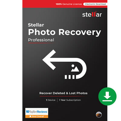 Stellar Photo Recovery Software for Mac Pro recover deleted video, audio & image