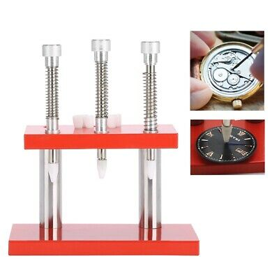 Watch Hand Presser Three Needles Watchmaker Remover Removal Repairing Tool Kit