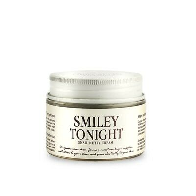 GRAYMELIN Smiley Tonight Snail Nutry Cream 50g/1.76oz with snail slime K-beauty
