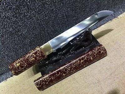 Japanese Hand Forged 1060 Carbon Steel Tanto Dagger