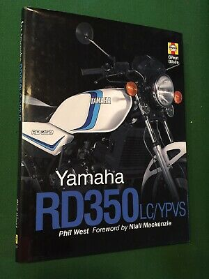 Yamaha RD350LC YPVS Haynes Great Bikes Book Phil West Niall Mackenzie