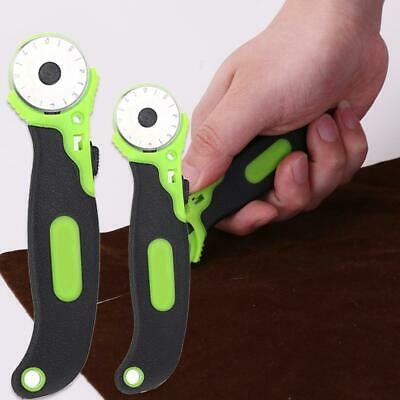 Circular Rotary Cutter Knife Safety Blade Patchwork Piecing Fabric Cutting Tool