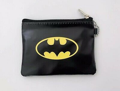 NEW Boy Children Kids School Batman Zip Coin Card small Wallet case Purse Bag