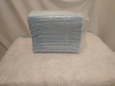 """2 CASES! 300Total! Disposable Underpads Absorbent Fluff Chux 23"""" x36"""""""