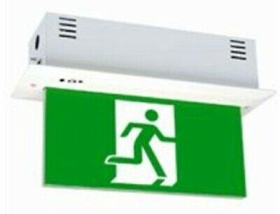 Legrand EDGELIGHT LED EMERGENCY EXIT SIGN DIFFUSER 4x1W Single Sided, Both Ways