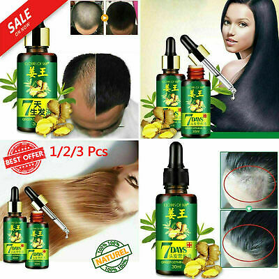 ReGrow - 7 Day Ginger Germinal Hair Growth Serum for Men Women Free Shipping