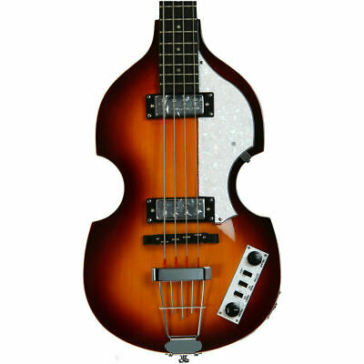 Hofner Ignition Beatle Violin Bass - Sunburst   with  Hard Case