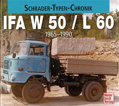 Book - IFA W 50 L 60 1965 1990 East German DDR Trucks - Brochure Photos - Ikarus