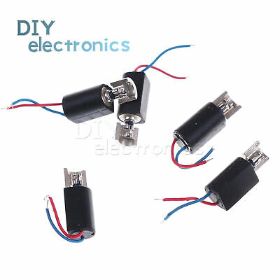 5/10PCS 4x8mm DC1.5-3V Coreless Vibrating Vibrator Vibration Motor For SANYO US