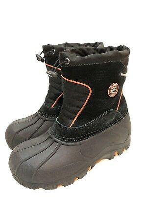 59bc582bb YOUTH BOYS TOTES Silas Winter Snow Boots Red Black size 6 M - $22.38 ...