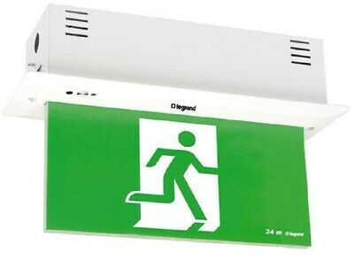 Legrand EMERGENCY LED EXIT SIGN DIFFUSER 4x1W Single Sided, Running Man Right