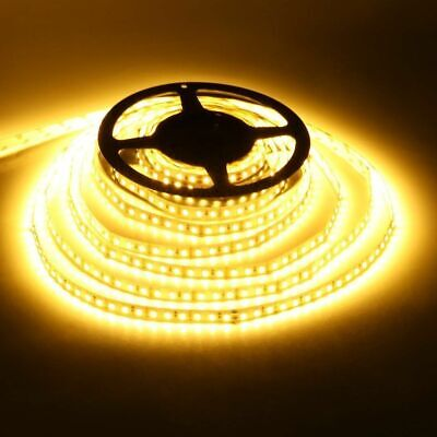 5m 10m 20m 12V SMD 2835 LED Stripe Streifen Band Leiste Licht warmweiss IP20