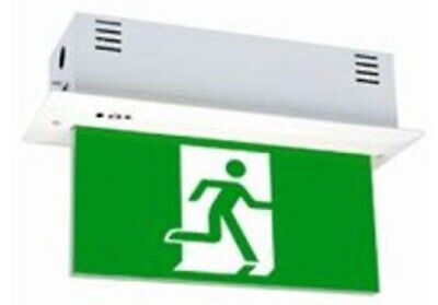 Legrand EMERGENCY LED EXIT SIGN DIFFUSER 4x1W Double Sided, Exit Left & Right