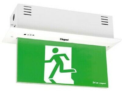 Legrand EDGELIGHT LED EXIT SIGN DIFFUSER 4x1W Single Sided, Running Man Left