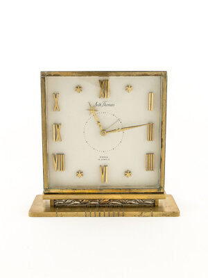Seth Thomas table desk clock with 8 day movement, 1950´s