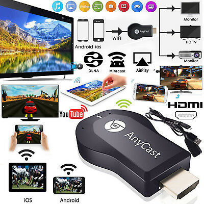 Anycast WiFi display TV dongle receptor HDMI Wireless Airplay DLNA Miracast