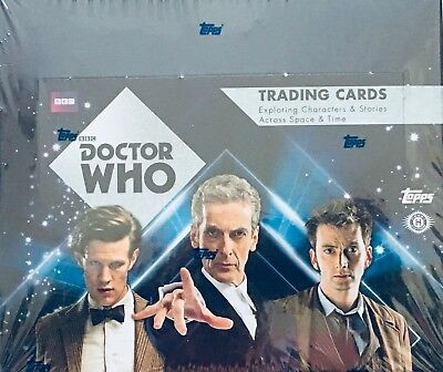 Topps Doctor Dr Who Issue 2015 Sealed Trading Card Box