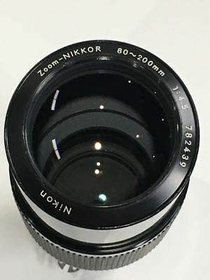 [For Parts] Nikon Ai 80-200mm f4.5 Zoom Nikkor MF Telephoto Lens From Japan #44