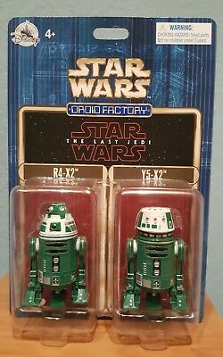 Disney Parks Star Wars R2 units astromech Droid Factory units R4-X2 & Y5-X2