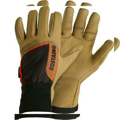 Rostaing CLOTURE-IT09 Gants Pro barbelé, Beige/Marron, 35.5 x 11.5 x 3.5 cm