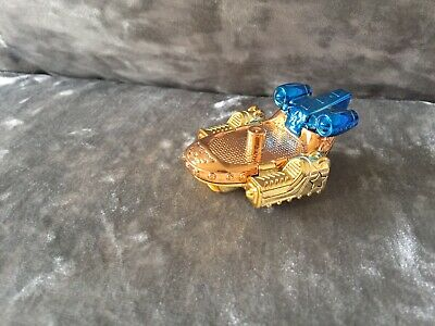 ❤️superzings Series 3 Rivals Of Kaboom Rare Gold Vechile Car ❤️