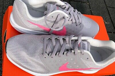 a01f90f8e8344 Nike DOWNSHIFTER 7 Womens Gray   Pink Shoes SIZE 7.5 Brand New Running  Sneakers