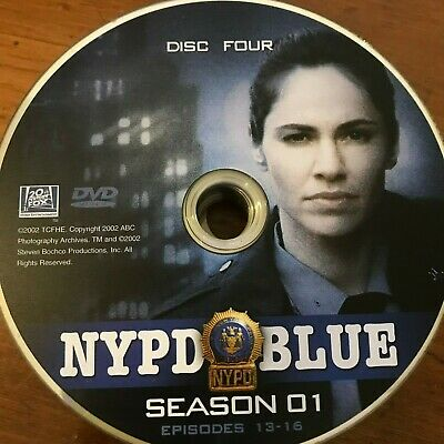 Nypd Blue Season 1 (Dvd) Replacement Disc # 4