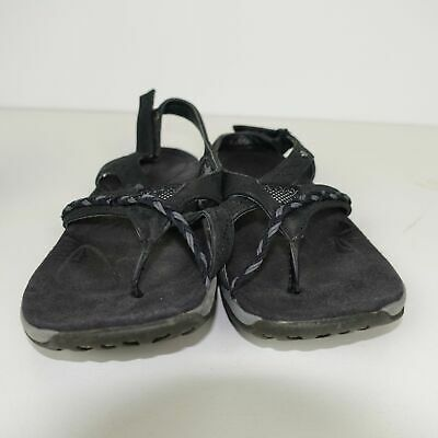 8ca5adedfd5b Merrell Womens Stella Bloom Sandals Toe Ring Slingback Thong Sandal Black  Size 6