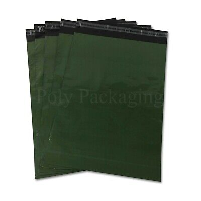 """OLIVE GREEN 6x9""""Coloured Mailing Bags 165x230mm Any Qty"""