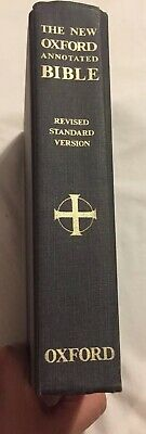 The New Oxford Annotated Bible Revised Standard Version 1973 Hardcover Stained
