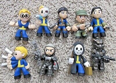 Funko Mystery Minis Fallout 4 Lot Of 9 Bethseda Vault Boy Best Of