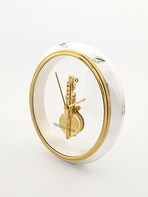 Rare Jaeger-LeCoultre table clock with 8 day baguette movement ,1970s