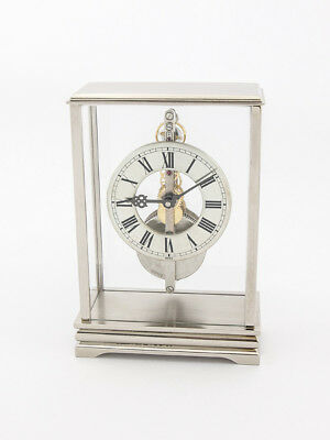 Rare Jaeger-LeCoultre table clock with 8 day inline movement, 1960´s