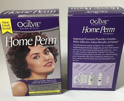 Ogilvie Home Perm The Original Color-Treated, Thin or Delicate Hair 1 Each 2pk